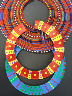 African Necklace Craft